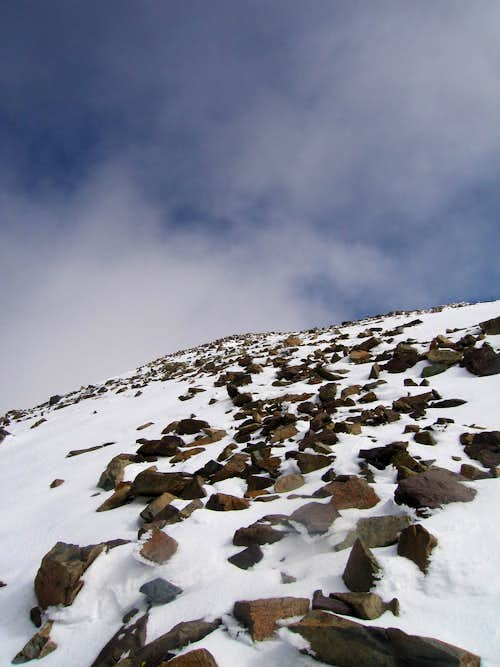 To the Summit of Mt Dana