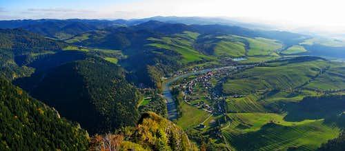 Dunajec and Magura Spiska from Trzy Korony