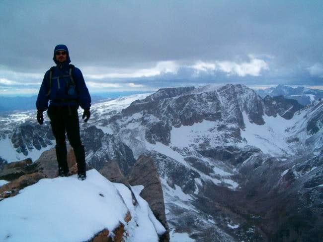 Summit of Whitetail Peak with...