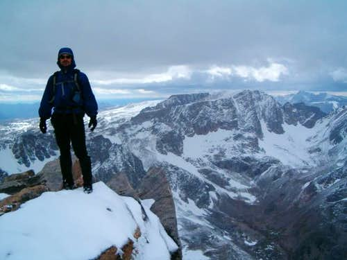Summit of Whitetail Peak with...