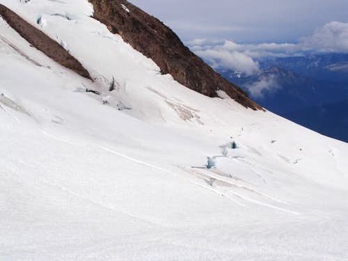 Crevasses on the Cool Glacier