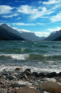 Windy Day on Upper Waterton Lake