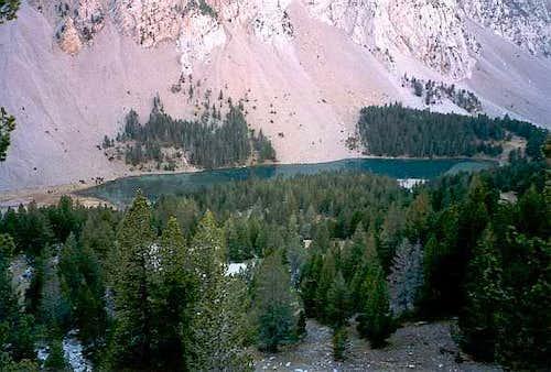 Back to from the top of Peña de las Once to Ibón de Plan (Basa de la Mora)