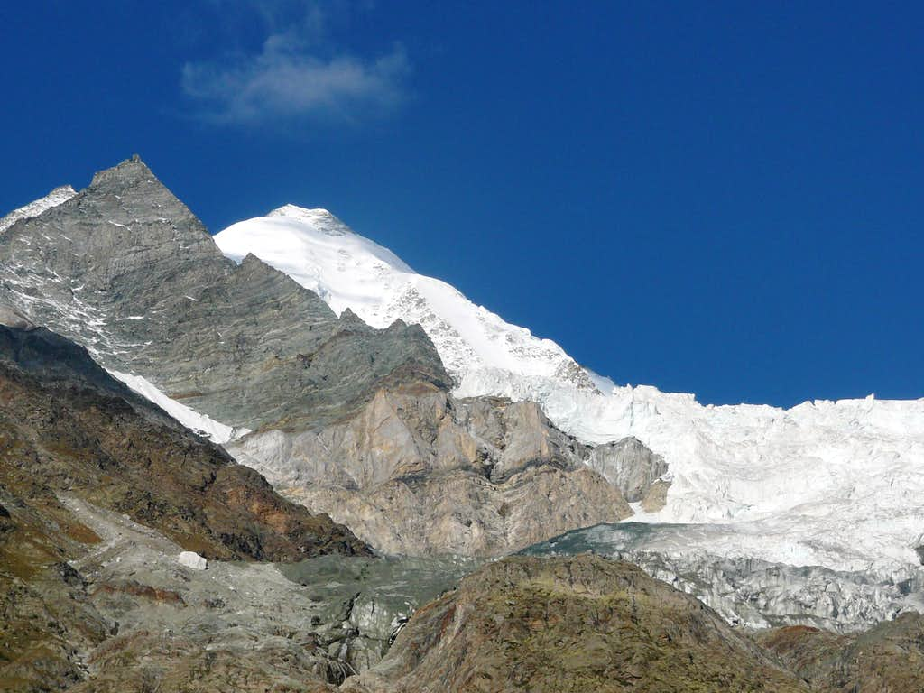Weisshorn north face