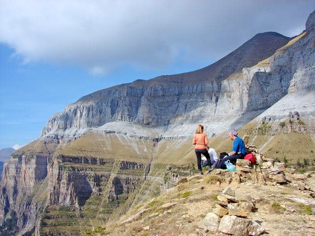 Summit of Tozal del Mallo