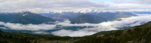 Mt Beadnell Summit Panorama
