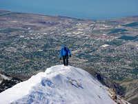 Low on Everest Ridge