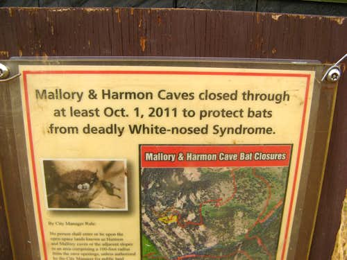 Mallory Cave Closure