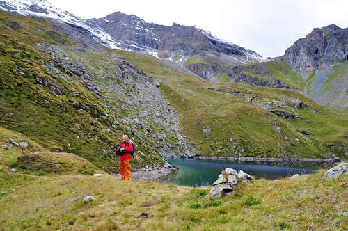 Alpine Lakes in the Aosta