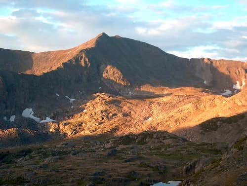 Jasper Peak at Sunrise