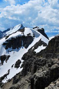Grinnell Point summit ridge