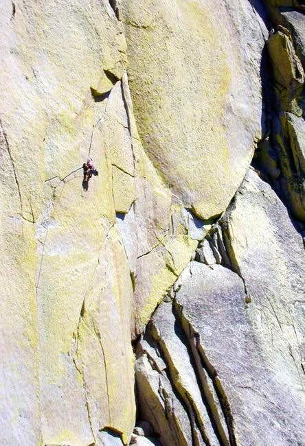 Climber on Airy Interlude,...
