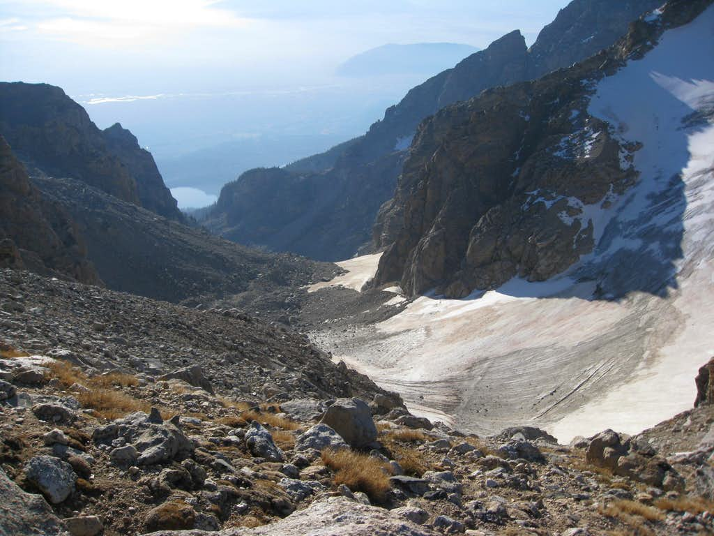 Lower Saddle View