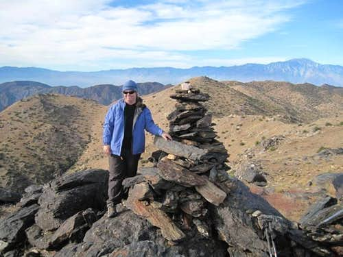 Me on Quail Mountain