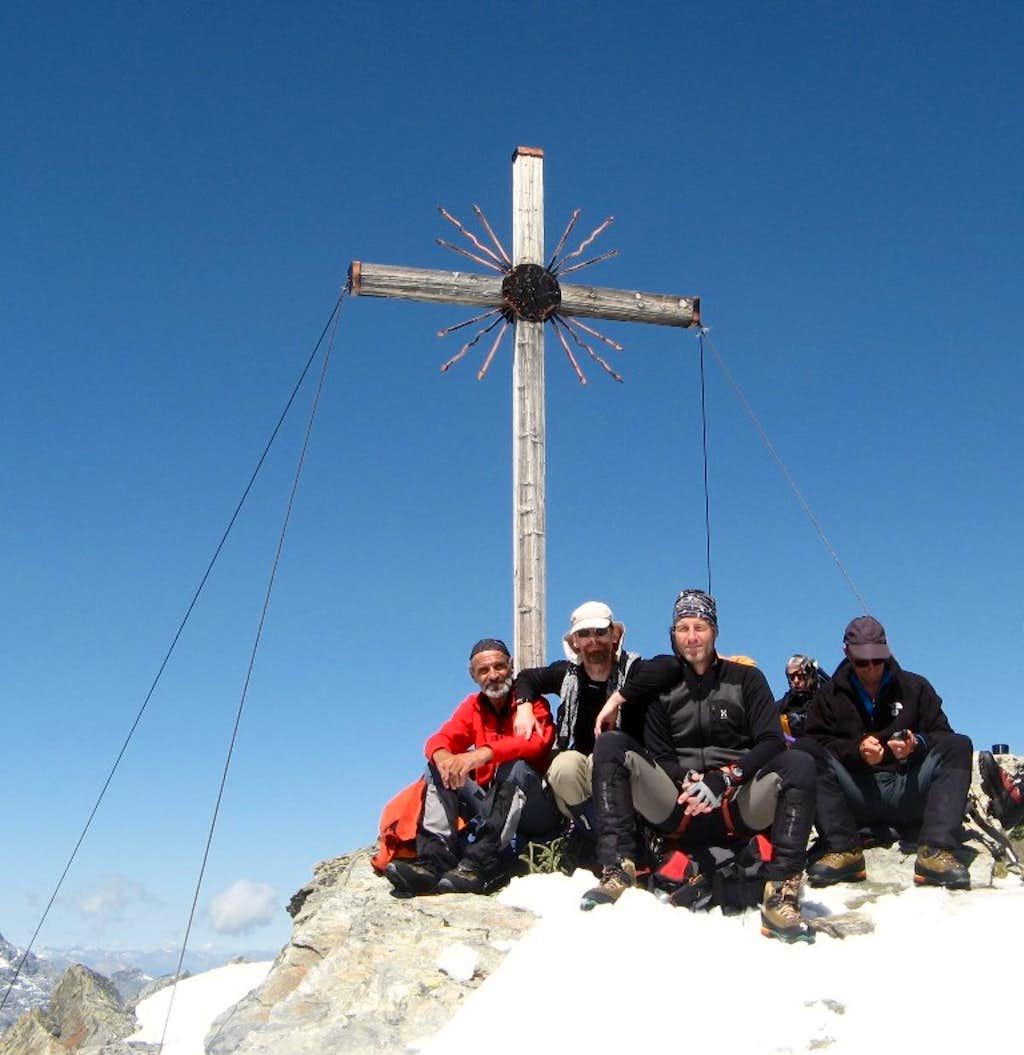 Madritschspitze / Cima Madriccio summit cross