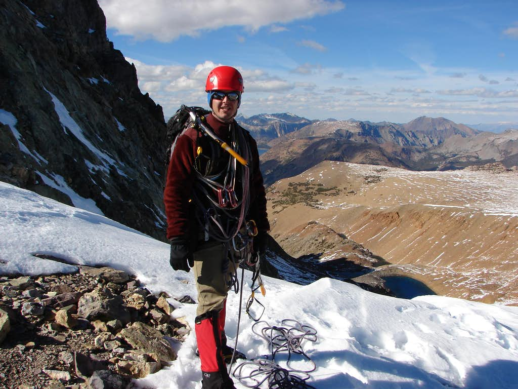 Top of the couloir Oct 15, 2010