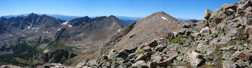 The Gore Range from Mount...