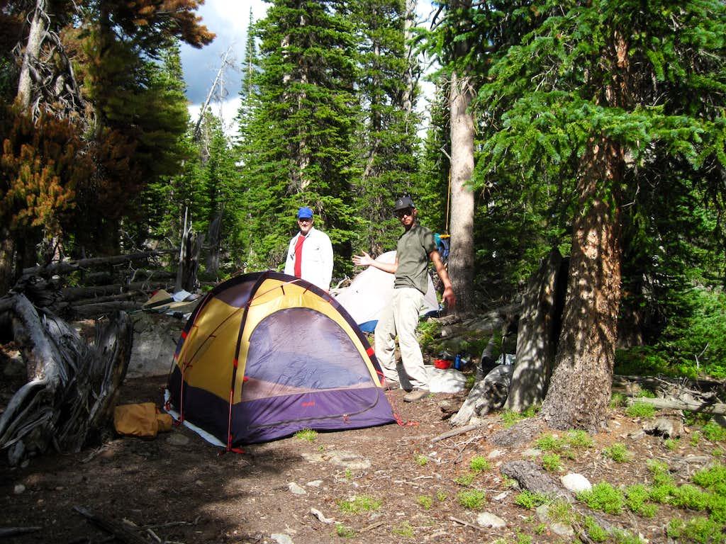 1st Night's Camp