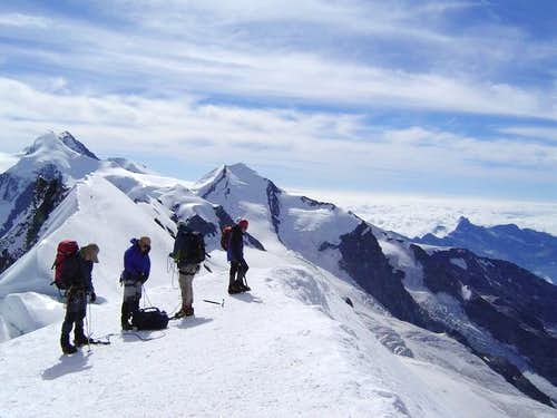Breithorn Summit