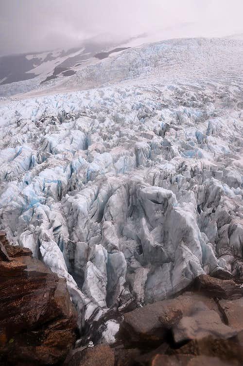 Iceland, Hvannadalshnjúkur, Vatnajökull glacier