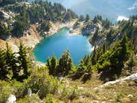 Lower Thunder Mountain Lake.