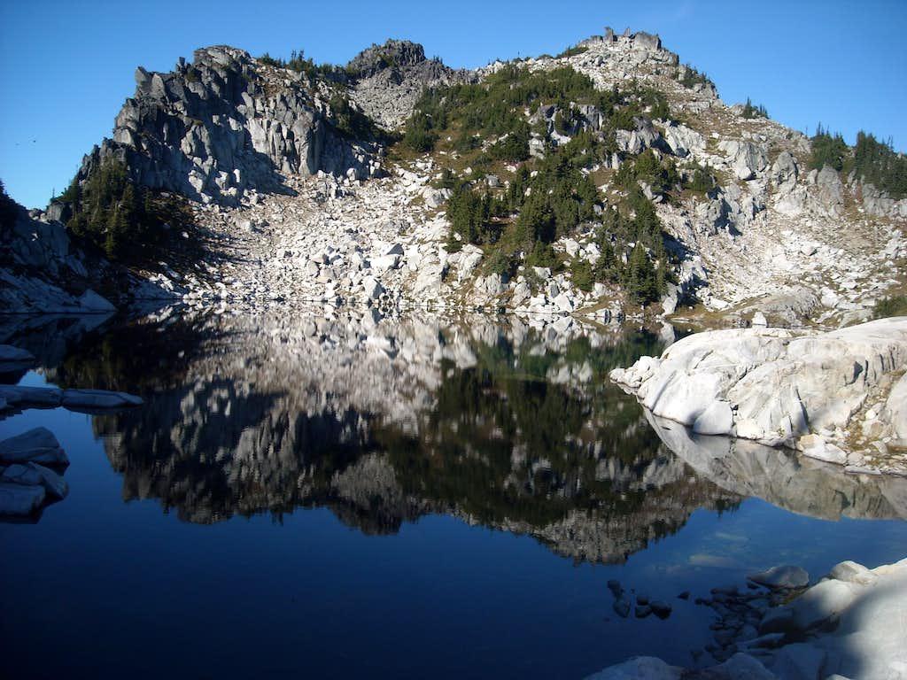 Nimbus Peak and Upper Thunder Mountain