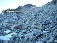 Talus and boulders