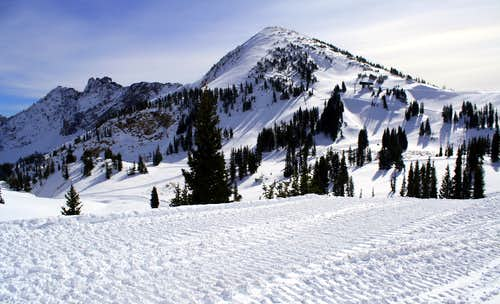 Winter has reached the Wasatch Range
