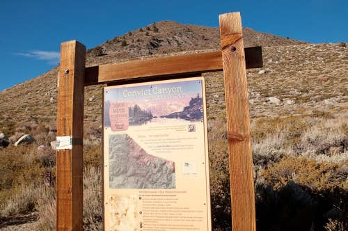 Convict Canyon Trailhead