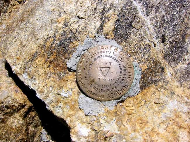 The USGS Summit Marker Labels...
