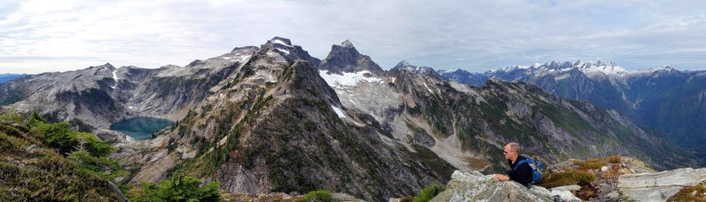 X Mountain Summit Panorama