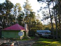 Swiss NGO camp near Pic La Selle