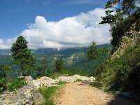 road to Peak La Selle