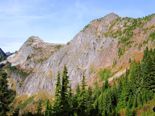 X Mountain And Trappers Peak