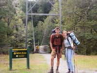 Geneva and me on the Kepler Track
