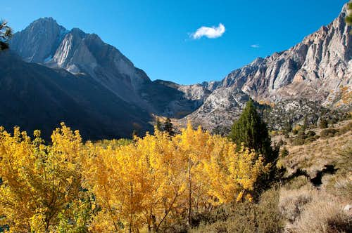 Fall at Convict Lake