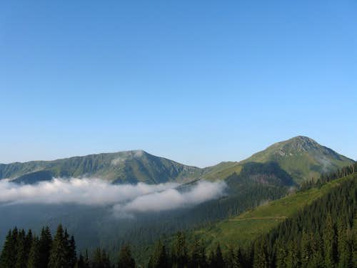 Mihailecu - Farcău massif