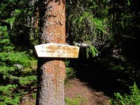 Lost Lake Trail Junction