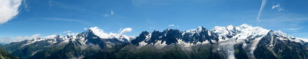 Panorama Mont Blanc Group