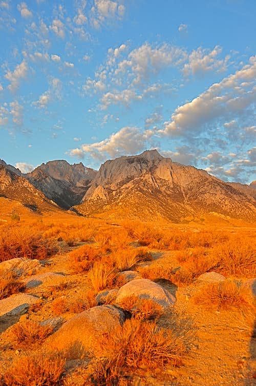 Sunrise on Lone Pine Peak