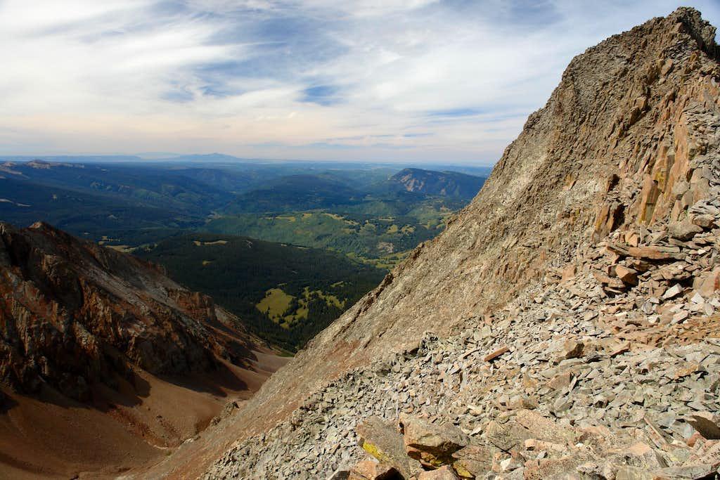 South slopes of El Diente