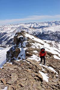Trico Peak snow hike