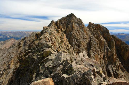 "Summit ridge of ""West Wilson"""