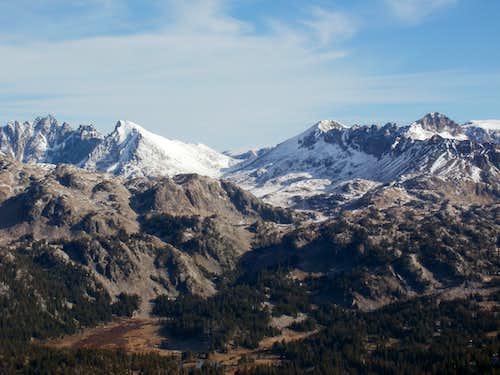Scotch Bonnet Mt. View To Northeast