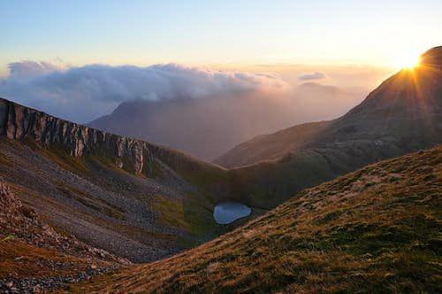 Devil's Ridge near Stob Bàn