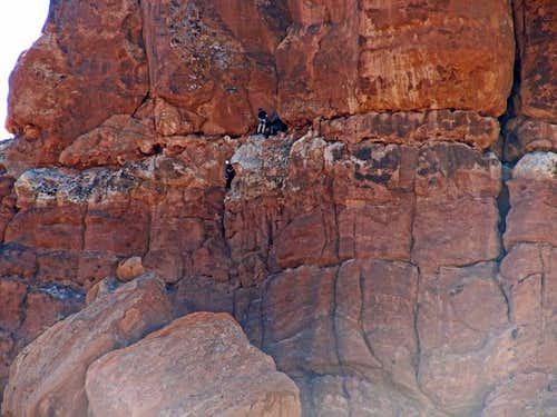Climbers on Off-Balance
