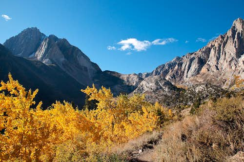 Fall in Convict Canyon
