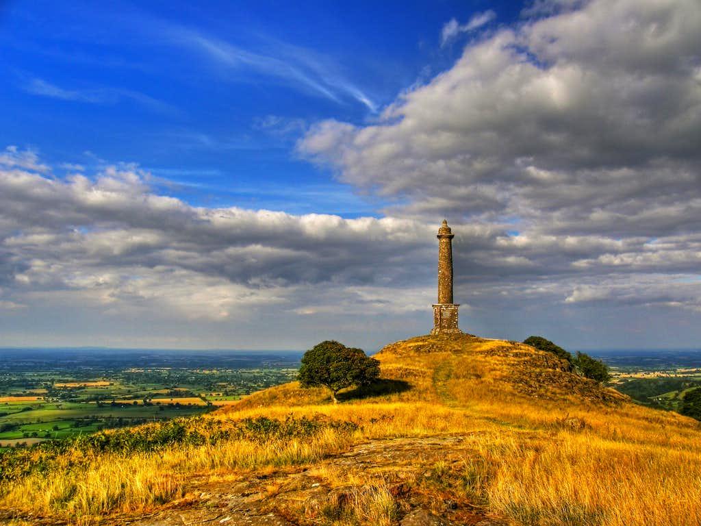 Breidden Hill and Rodney's Pillar