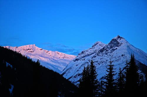 Rogers Pass Sunrise