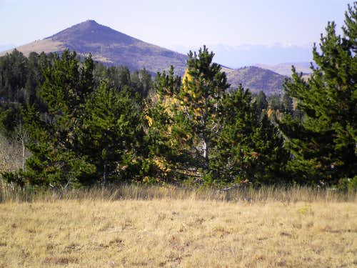 Mount Pisgah from meadow